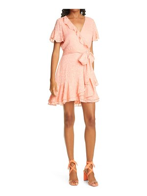 Tanya Taylor bianka ii silk blend wrap dress
