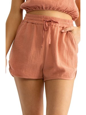 Tavik rian cover-up shorts