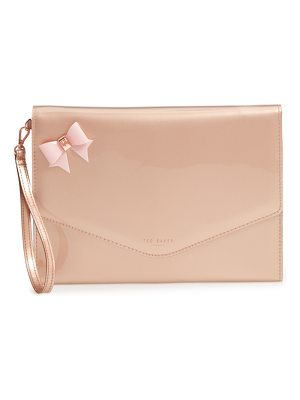 Ted Baker bow envelope clutch