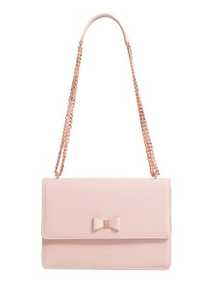 Ted Baker bow leather crossbody bag