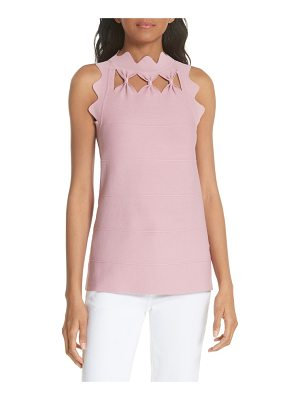 Ted Baker bow neck knit top
