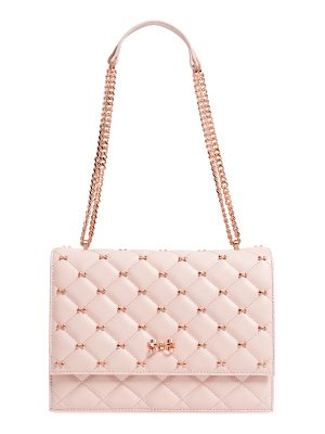 Ted Baker bow quilted leather shoulder bag