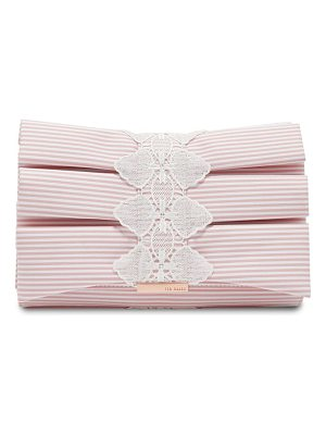 TED BAKER Box Pleat Evening Bag