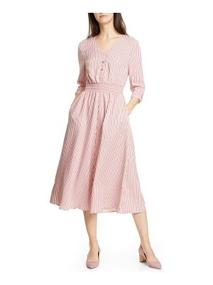 Ted Baker colour by numbers stripe midi shirtdress