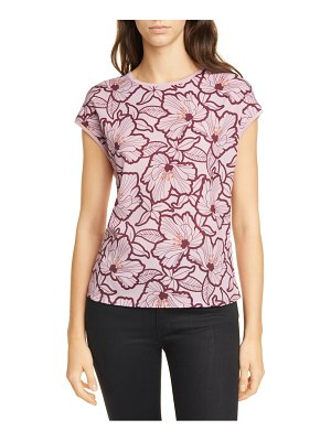 Ted Baker cordine amber floral woven front top