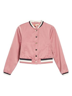 TED BAKER Crop Bomber Jacket
