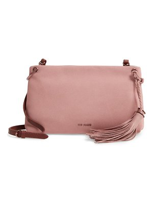 Ted Baker demetra tassel leather crossbody bag