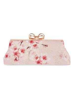 TED BAKER Diona Glitter Frame Evening Clutch