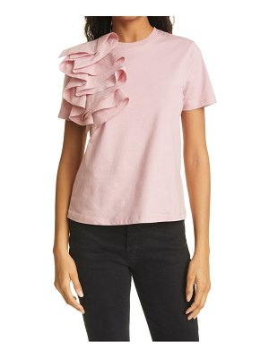 Ted Baker frill detail relaxed cotton top