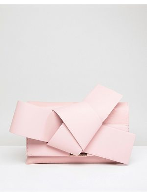 Ted Baker Giant Leather Knot Bow Clutch Bag