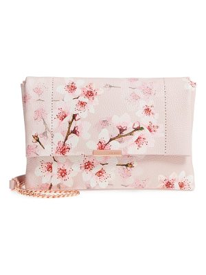 TED BAKER Jayy Soft Blossom Leather Crossbody Bag