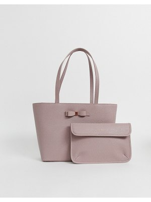 Ted Baker jjesica bow detail shopper