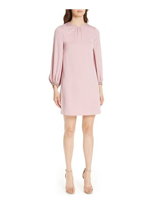 Ted Baker joele embellished cuff shift dress