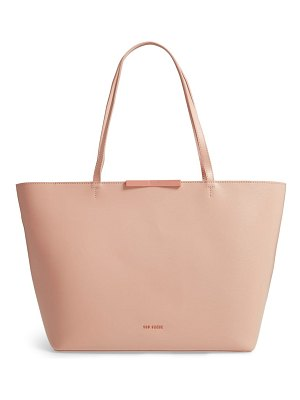 Ted Baker joycee bow detail leather shopper