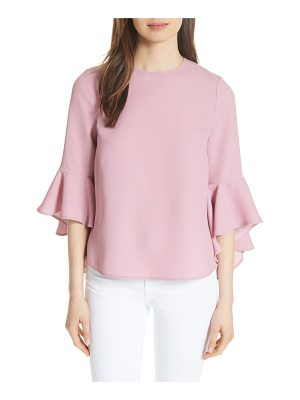 Ted Baker juula waterfall sleeve top