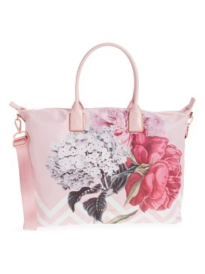 TED BAKER Large Palace Gardens Nylon Tote