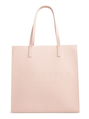 Ted Baker large soocon embossed logo icon tote