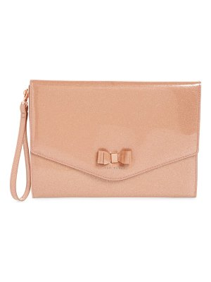 Ted Baker laurea sparkle envelope clutch