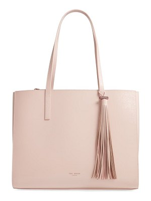 Ted Baker lilaah tassel leather shopper