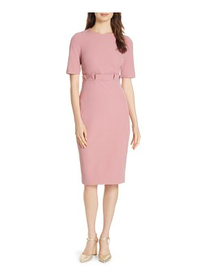 Ted Baker maggidd ruffle waist pencil dress