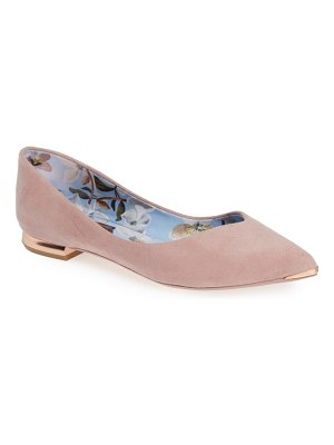 Ted Baker mancies pointy toe flat