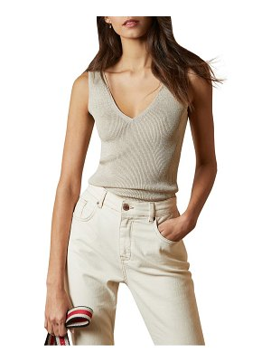 Ted Baker niyalia metallic ribbed tank