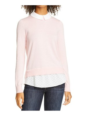 Ted Baker ohlin mixed media layered sweater