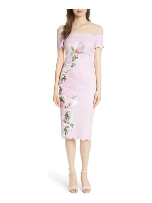 Ted Baker olyva harmony body-con dress