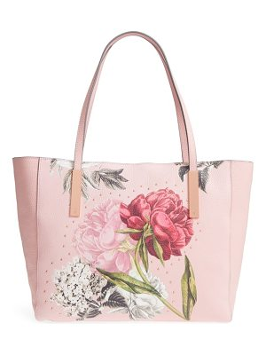 Ted Baker palace gardens large leather tote