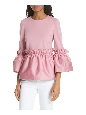 Ted Baker pleat ruffle top