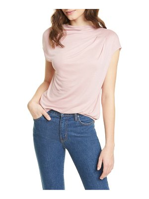 Ted Baker popeey cowl neck jersey top