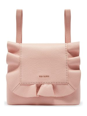 Ted Baker rammira leather convertible backpack