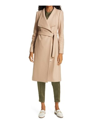 Ted Baker rose wool & cashmere blend wrap coat