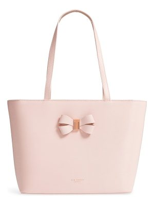 TED BAKER Small Bowmisa Leather Shopper & Pouch