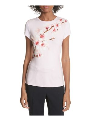 TED BAKER Soft Blossom Fitted Tee