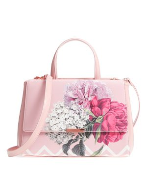 Ted Baker tecoma palace gardens faux leather tote