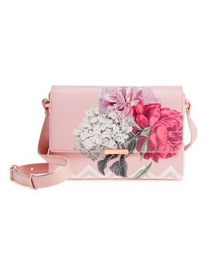 TED BAKER Teda Palace Gardens Faux Leather Crossbody Bag