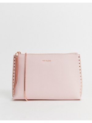 Ted Baker tesssa chain tassel evening bag-pink