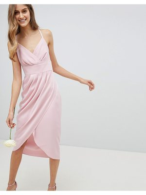 Ted Baker Tie The Knot Drape Bridesmaid Midi Dress