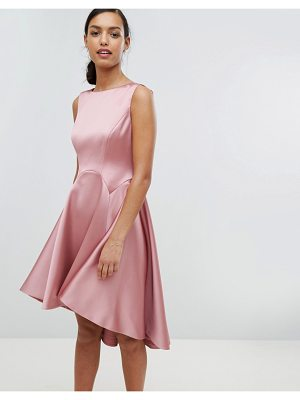 Ted Baker Tie The Knot Sculpted Skater Bridesmaid Dress