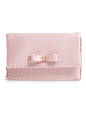 Ted Baker zaandra bow evening bag