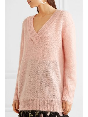 Temperley London iron mohair-blend sweater
