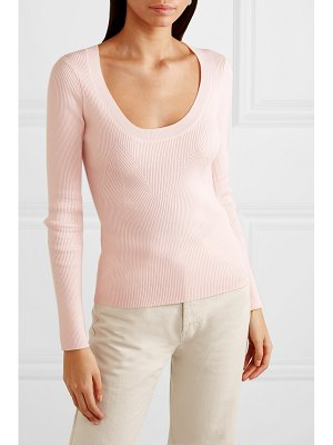 Temperley London joan ribbed-knit sweater