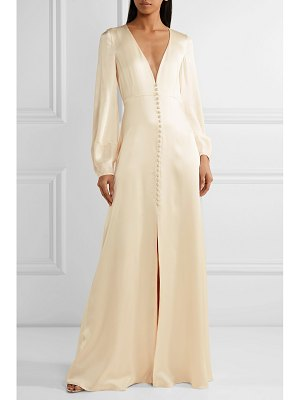 Temperley London julianna silk-satin gown