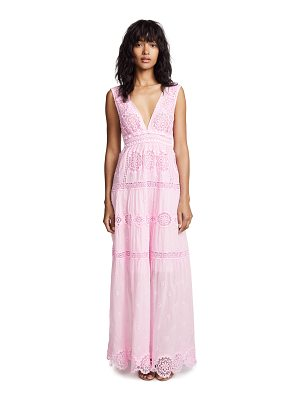 Temptation Positano maldive long v neck dress
