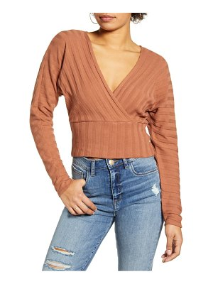 Ten Sixty Sherman cross front ribbed top