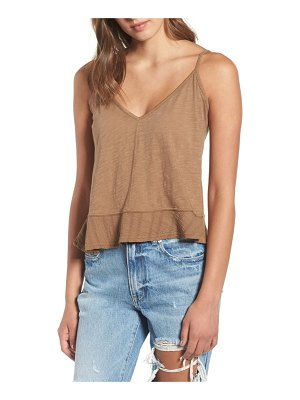 Ten Sixty Sherman flare hem tank top