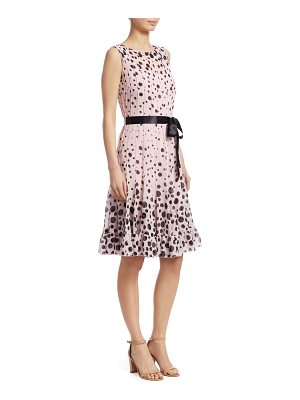 Teri Jon polka dot dress