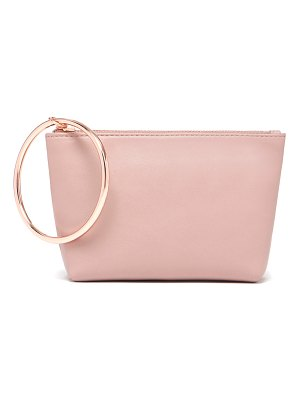 Thacker small ring leather pouch