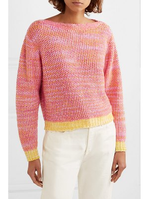 The Elder Statesman flowers of life cashmere sweater